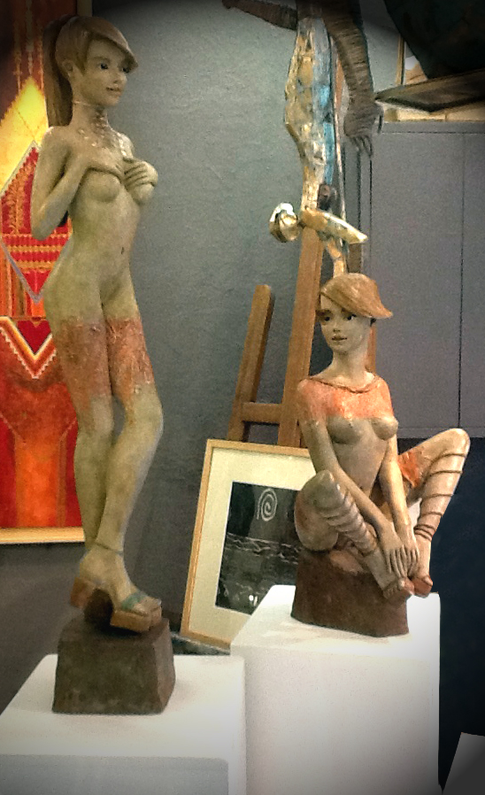 Bronzes galerie il etait une fois SANARY interieur