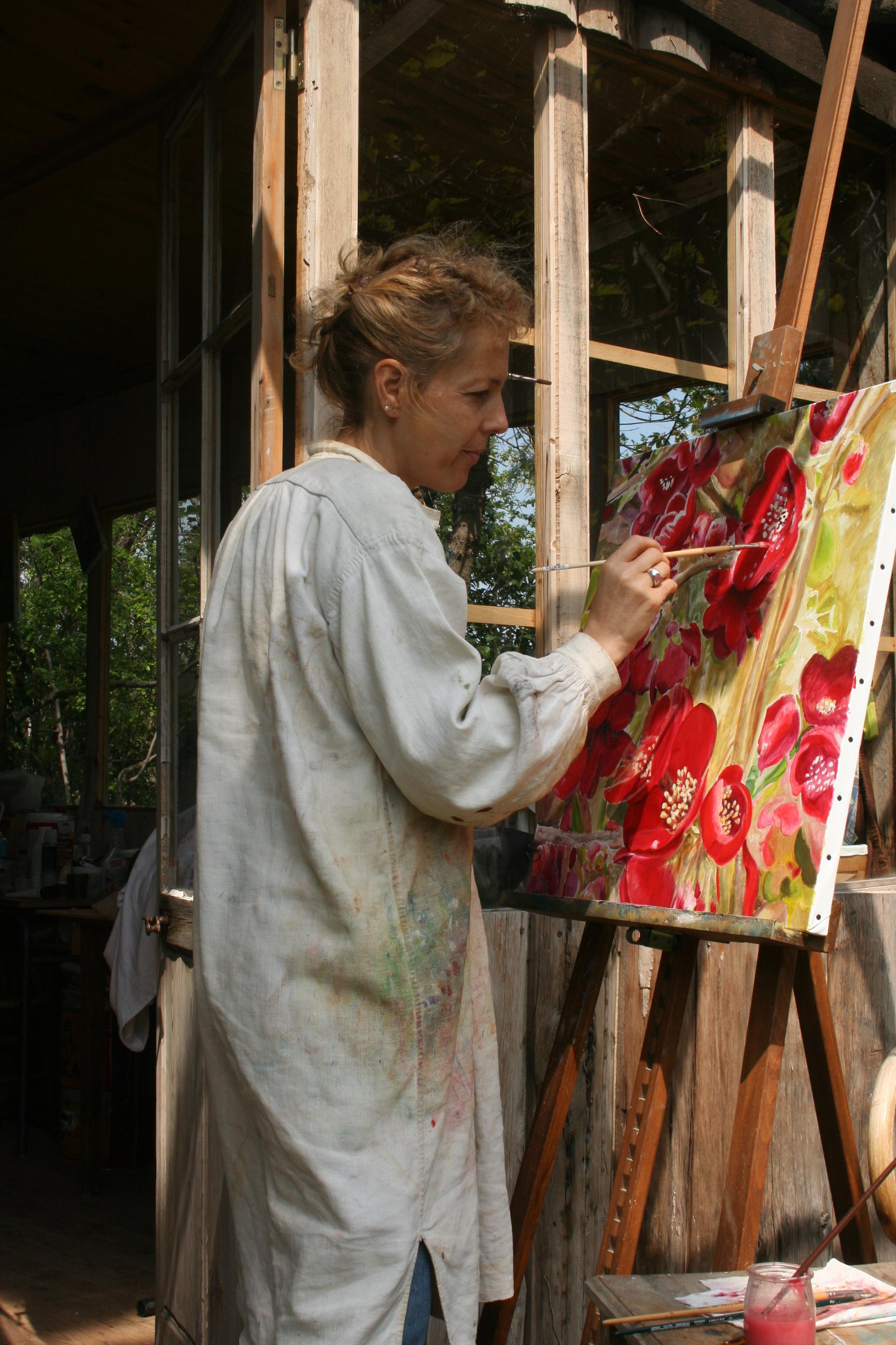 Atelier peinture huile       Priorité lumière
